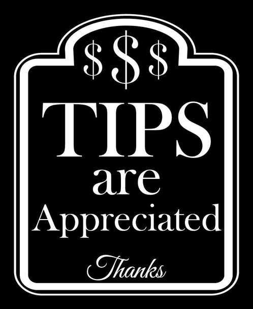 Thank you for tipping!!!